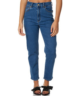 HOLLYWOOD BLUES WOMENS CLOTHING A.BRAND JEANS - 708132638