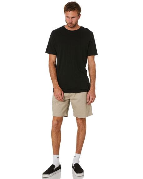 KHAKI MENS CLOTHING DEPACTUS SHORTS - D5221231KHK