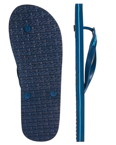 BLUE MENS FOOTWEAR BILLABONG THONGS - 9685936BLU