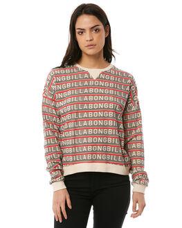 IVORY WOMENS CLOTHING BILLABONG JUMPERS - 6586743I03