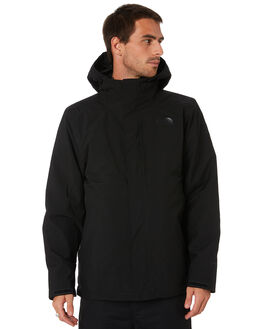 TNF BLACK BLACK MENS CLOTHING THE NORTH FACE JACKETS - NF0A3SS4KX7