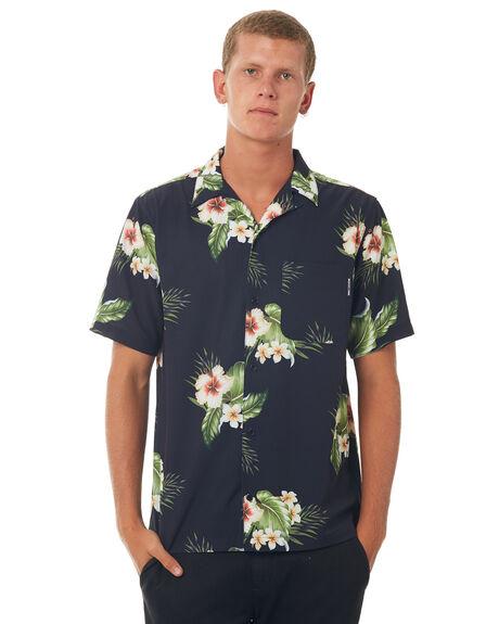 DARK INDIGO MENS CLOTHING DC SHOES SHIRTS - EDYWT03186BYJ0