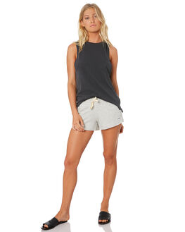 ANTHRACITE WOMENS CLOTHING HURLEY SINGLETS - AA3214060