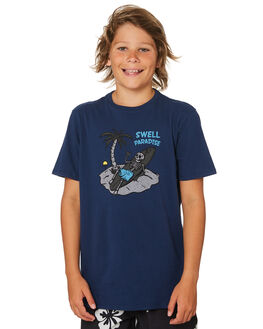 NAVY KIDS BOYS SWELL TOPS - S3182003NAVY