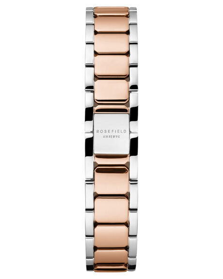 SILVER ROSE GOLD WOMENS ACCESSORIES ROSEFIELD WATCHES - TWSSRG-T64SIL