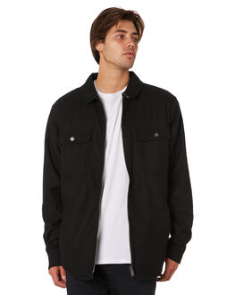 BLACK MENS CLOTHING RPM JACKETS - 9AMT19ABLK