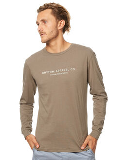 OLIVE MENS CLOTHING RHYTHM TEES - JUL17-TS08-OLI