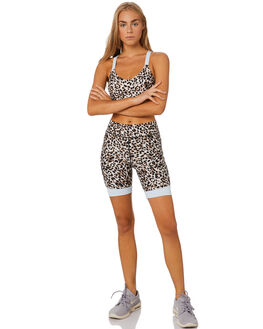 LEOPARD MULTI WOMENS CLOTHING THE UPSIDE ACTIVEWEAR - USW120038LEOML