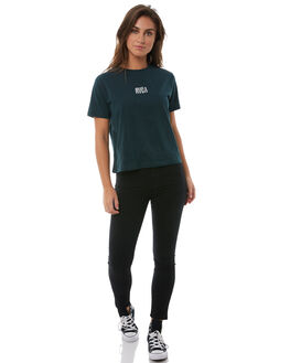 FOREST WOMENS CLOTHING RVCA TEES - R283689FOR