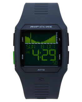 BLACK GREEN MENS ACCESSORIES RIP CURL WATCHES - A11194023