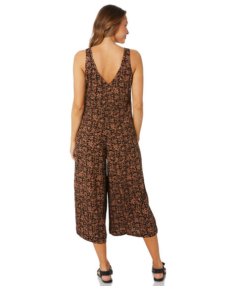 SAVANNAH FLORAL WOMENS CLOTHING THE HIDDEN WAY PLAYSUITS + OVERALLS - H8211449SVHFL