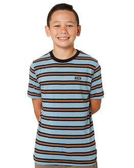 ARCTIC BLUE KIDS BOYS GLOBE TOPS - GB41821001ARBLU