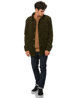 DK OLIVE MENS CLOTHING SWELL JACKETS - S5203383DKOLV