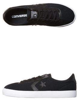 BLACK WOMENS FOOTWEAR CONVERSE SNEAKERS - 555981BLK
