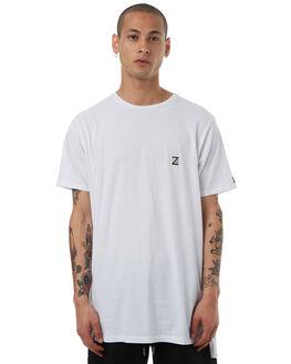WHITE MENS CLOTHING ZANEROBE TEES - 143-LYKMWHT