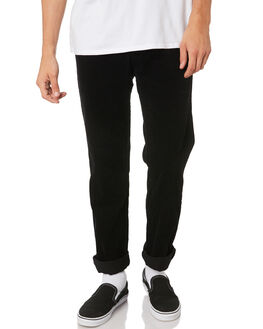 VINTAGE BLACK MENS CLOTHING RUSTY PANTS - PAM0942VBL