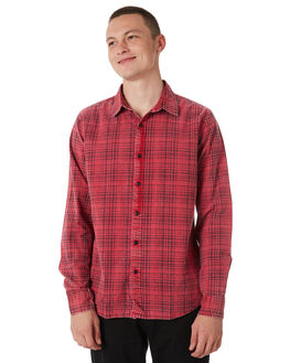 RED BLACK OUTLET MENS SILENT THEORY SHIRTS - 4014032RBLK