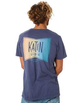 NAVY MENS CLOTHING KATIN TEES - TSGR200NVY