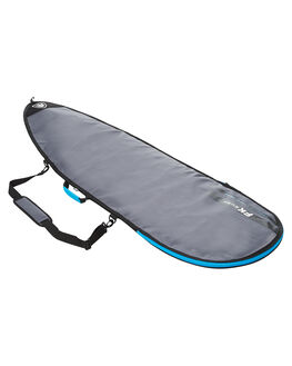 CHARCOAL SILVER BOARDSPORTS SURF FAR KING BOARDCOVERS - 1304-02CHAR