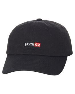 WASHED BLACK MENS ACCESSORIES BRIXTON HEADWEAR - 00808WABLK