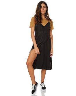 BLACK WOMENS CLOTHING THE HIDDEN WAY DRESSES - H8173445BLK