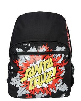 BLACK KIDS BOYS SANTA CRUZ BAGS + BACKPACKS - SC-YAD9296BLK