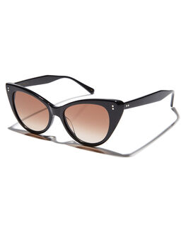 BLACK WOMENS ACCESSORIES SUNDAY SOMEWHERE SUNGLASSES - SUN171-BLK-SUNBLK