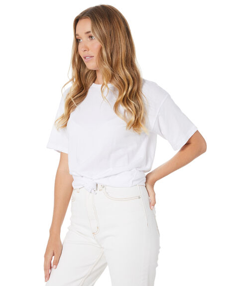 WHITE WOMENS CLOTHING SILENT THEORY TEES - 6023036WHT