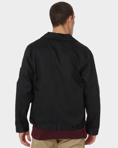 BLACK MENS CLOTHING DICKIES JACKETS - TJ75BK