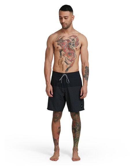 BLACK MENS CLOTHING RVCA BOARDSHORTS - RV-R383411-BLK