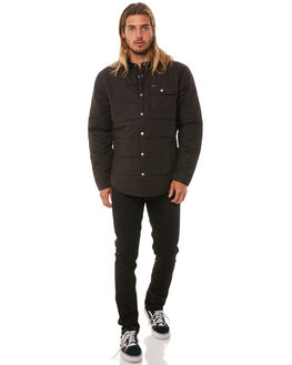 BLACK BLACK MENS CLOTHING BRIXTON JACKETS - 314-03027-0135BKBK