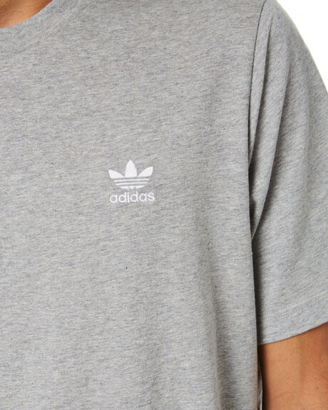 MEDIUM GREY HEATHER MENS CLOTHING ADIDAS TEES - FM9962MGRYH
