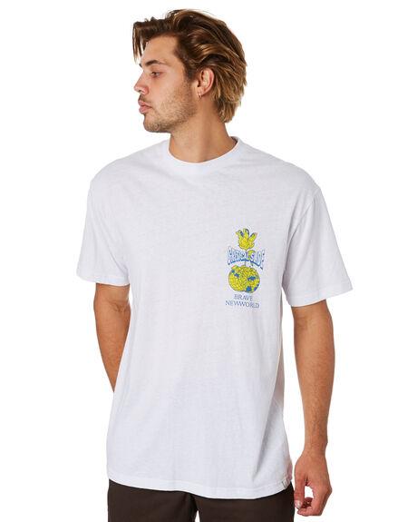 WHITE MENS CLOTHING THE CRITICAL SLIDE SOCIETY TEES - TE18256WHT
