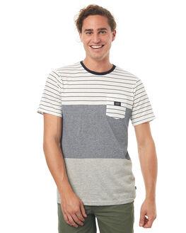 OATMEAL MENS CLOTHING GLOBE TEES - GB01731008OAT