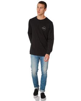 BLACK MENS CLOTHING BILLABONG TEES - 9585186BLK