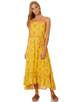 MARIGOLD WOMENS CLOTHING TIGERLILY DRESSES - T305422YEL