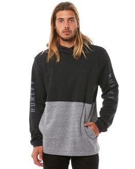 BLACK MENS CLOTHING HURLEY JUMPERS - 895094010