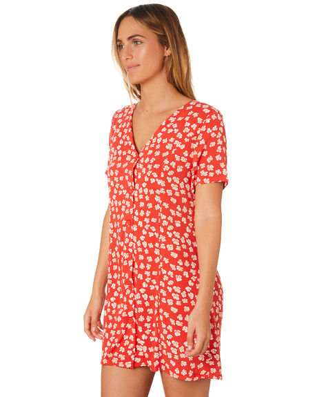 RED WOMENS CLOTHING INSIGHT DRESSES - 5000003222RED