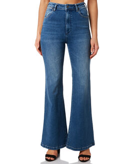 BLUE FIELDS WOMENS CLOTHING WRANGLER JEANS - W-951473-LP8