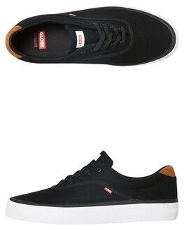 BLACK HEMP MENS FOOTWEAR GLOBE SKATE SHOES - GBSPROUT-20004
