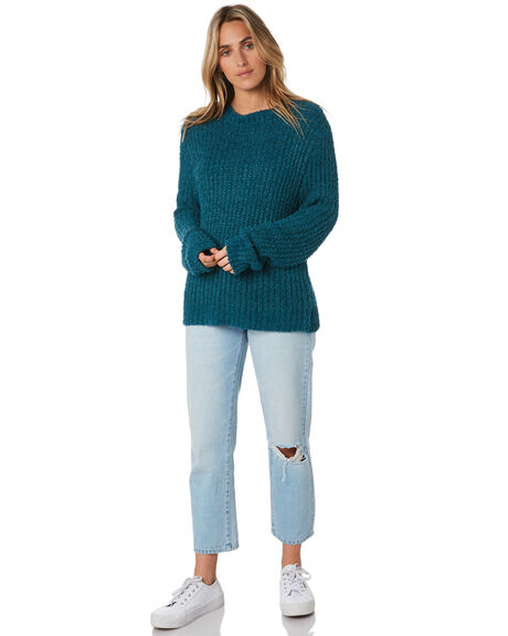 TEAL WOMENS CLOTHING ALL ABOUT EVE KNITS + CARDIGANS - 6453062TEAL