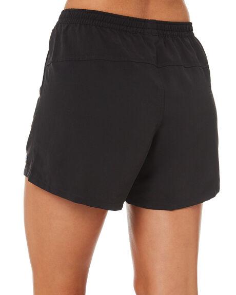 BLACK WOMENS CLOTHING PATAGONIA SHORTS - 57058BLK