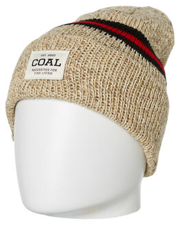 NATURAL MENS ACCESSORIES COAL HEADWEAR - 216304NAT