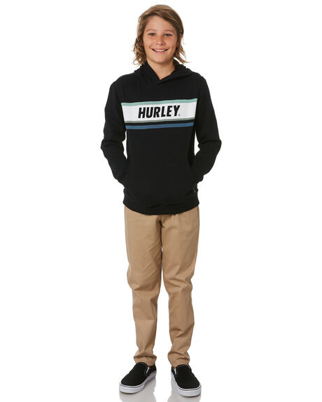 BLACK KIDS BOYS HURLEY JUMPERS + JACKETS - CT3474010