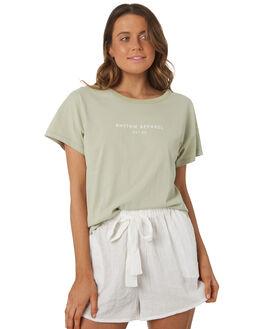 SAGE WOMENS CLOTHING RHYTHM TEES - OCT18W-PT02SAG