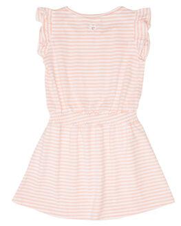 PINK WHITE STRIPE KIDS GIRLS EVES SISTER DRESSES + PLAYSUITS - 8044028PKWHT