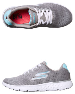 GREY BLUE WOMENS FOOTWEAR SKECHERS SNEAKERS - 14804GYBL