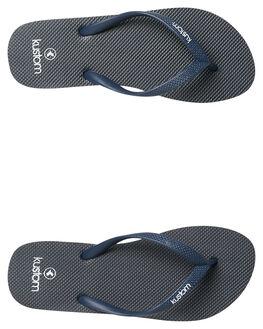 INDIGO WOMENS FOOTWEAR KUSTOM THONGS - 4627219CIND
