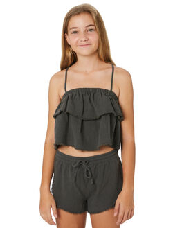 NAVAL GREY KIDS GIRLS RUSTY TOPS - WSG0001NVG