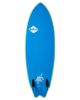 LIME YELLOW BOARDSPORTS SURF SOFTECH SOFTBOARDS - MHTII-LYL-056LMYE